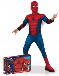 Disfarce luxo Spider-Man Homecoming™ coffret menino