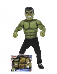 Disfarce almofadado Hulk™ com máscara menino
