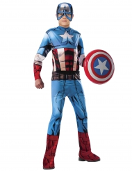 Disfarce clássico Captain America Avengers™ menino