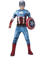 Disfarce luxo Captain America Avengers™ menino - Os Vingadores