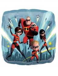 Balão quadrado alumínio The Incredibles - Os Super-Heróis™
