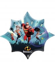 Balão estrela The Incredibles : Os Super-Heróis™
