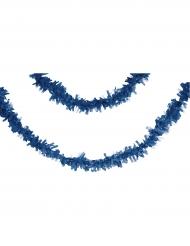 Grinalda de papel azul marinho 7 m