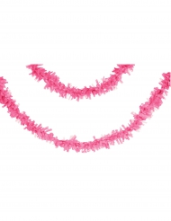 Grinalda de papel cor-de-rosa 7 m