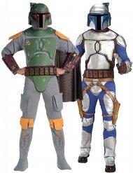 Disfarce de casal Jango e Boba Fett - Star Wars™