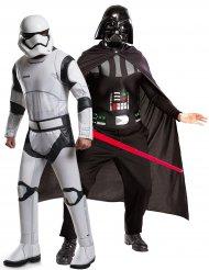 Disfarce de casal Darth vader e Stormtrooper - Star Wars™