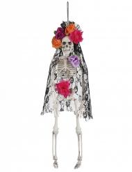 Esqueleto viuva mexicana Dia de los muertos