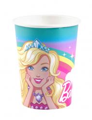 8 Copos de cartão Barbie Dreamtopia™