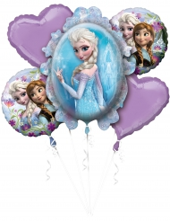 Ramo de 5 balões de alumínio Frozen™