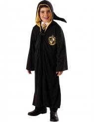 Disfarce vestido de mago Lufa-Lufa™ Harry Potter™ luxo criança
