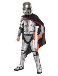 Disfarce Captain Phasma™ Star Wars™ de luxo criança
