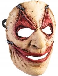 Meia máscara pele repuxada adulto