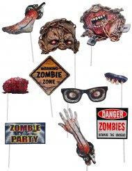 10 Acessórios photobooth zombie
