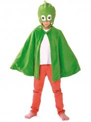 Capa e Máscara Gekko™ Pj Masks™ criança