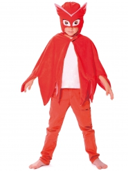 Capa e máscara Corujinha Pj Masks™ criança