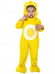 Disfarce Macacão amarelo Ursinhos Carinhosos™ criança