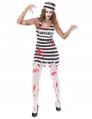 Disfarce prisioneira zombie para mulher