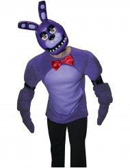 Meia máscara Bonnie™ video jogo Five Nights at Freddy