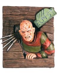 Decoração mural em relevo Freddy Krueger™ 61 x 74 cm