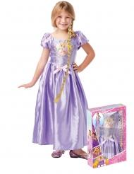 Disfarce Princesa Rapunzel™ com trança - Coffret