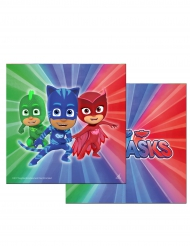 20 Guardanapos de papel Pj Masks™