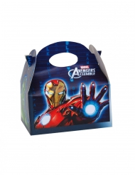 4 Caixas de cartão Avengers™ 16 x 10.5 x 16 cm - Os Vingadores™