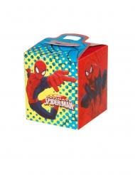 4 Caixas de cartão Spider-man™ 9.5 x 9.5 x 11 cm