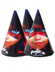 6 Chapéus de festa Ladybug™