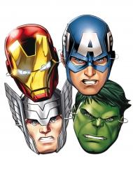 6 Máscaras de cartão Avengers™ - Os Vingadores™
