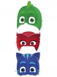 6 Máscaras de cartão Pj Masks™