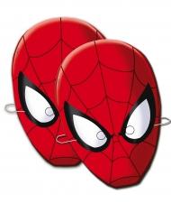 6 Máscaras de cartão Spider-Man™
