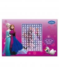 6 Individuais de mesa de papel Frozen™ 27 x 40 cm.