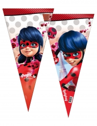 6 Sacos de festa grandes Ladybug™