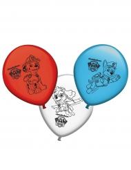 8 Balões de látex Patrulha Pata™