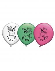 8 Balões de látex Peppa Pig™