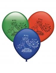 8 Balões de látex Pj Masks™
