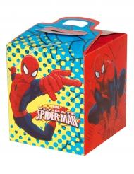Caixa presente de cartão Spiderman™ 9.5x 9.5 x 11 cm