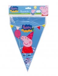 Grinalda de bandeirolas Peppa Pig™ 20 x 30 cm - 3 m