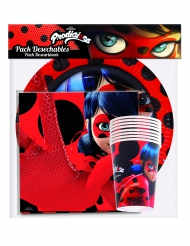 Pack louça descartável Ladybug™