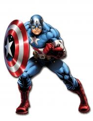 Decoração articulada Captain America™ 1 m