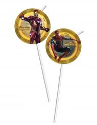 6 Palhinhas com imagem Avengers Infinity War™