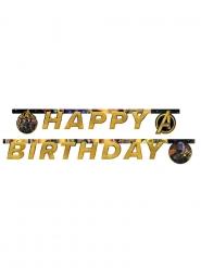 Grinalda Happy Birthday Avengers Infinity War™ 2 m x 16 cm
