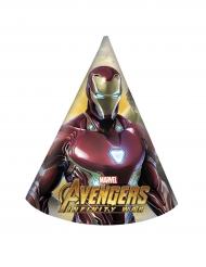 8 Chapéus de festa Avengers Infinity War™ - os Vingadores™
