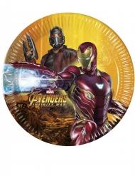 8 Pratos Avengers Infinity Wars™ - Os Vingadores