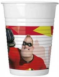 8 Copos de plástico Os Super-Heróis 2™