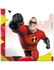 20 Guardanapos de papel - Os Super-Heróis 2™