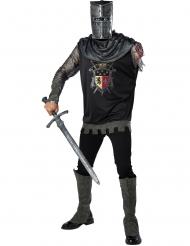 Disfarce cavaleiro sem braço adulto premium