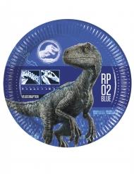 8 Pratos de cartão Jurassic World 2™