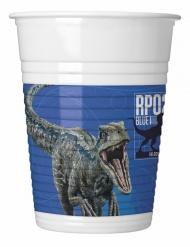 8 Copos de plástico Jurassic World 2™