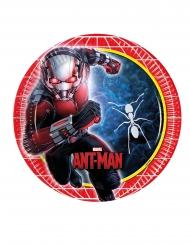 8 Pratos de cartão Ant-Man™ 23 cm Homem-Formiga